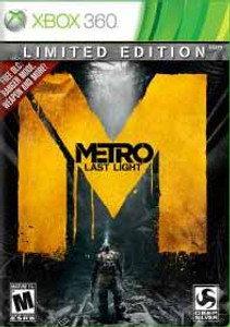 Metro Last Light Limited Edition - Xbox 360 Game