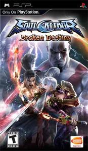 Soul Calibur Broken Destiny - PSP Game