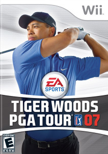Tiger Woods PGA Tour 07 - Wii Game