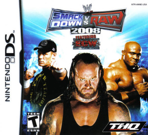 WWE Smack Down VS Raw 2008 DS Game