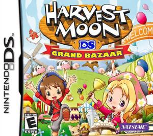 Harvest Moon Grand Bazaar - DS Game