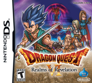 Dragon Quest VI Realms of Revelation Nintendo DS Game