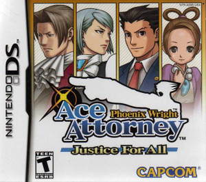 Phoenix Wright Ace Attorney Justice Nintendo DS Game