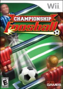 Championship Foosball Nintendo Wii Game