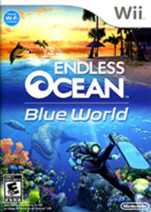 Endless Ocean Blue World Wii Game