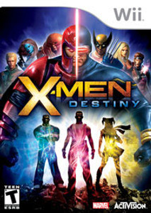 X-Men Destiny Wii Game