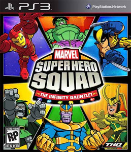 Marvel Super Hero Squad Infinity Guantlet - PS3 Game