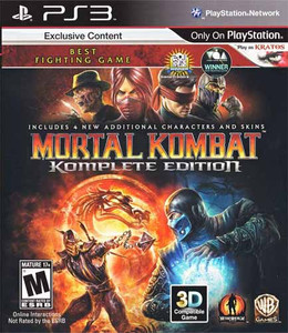 Mortal Kombat Komplete Edition - PS3 Game