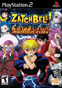 Zatch Bell Mamodo Fury PlaySation 2 Game