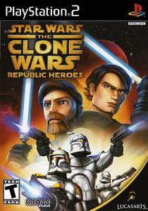 Star Wars Clone wars Republic Heroes PlayStation 2 Game