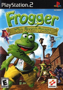 Frogger The Great Quest PlayStation 2 Game