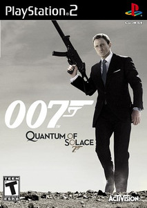 007 Quantum of Solace PlayStation 2 Game