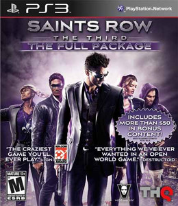 Saints Row The Third Full Package - PS3 Game