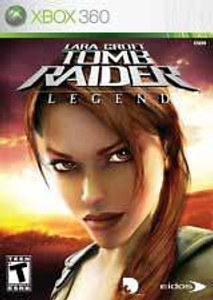 Lara Croft Tomb Raider Legend - 360 Game