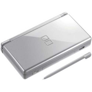 Nintendo DS Lite Silver Handheld System