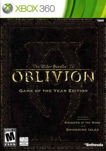 Oblivion Elder Scrolls IV Game of the Year Edition - 360 Game