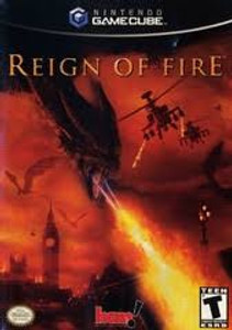 Reign of Fire GameCube Game