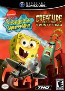 Nickelodeon SpongeBob Squarepants Creature Fromn The Krusty Krab GameCube Game