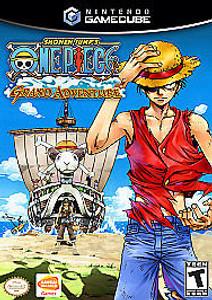 One Piece Grand Adventure GameCube Game