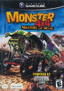 Monster 4x4 Masters of Metal GameCube Game