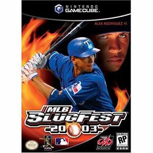 MLB SlugFest 2003 GameCube Game