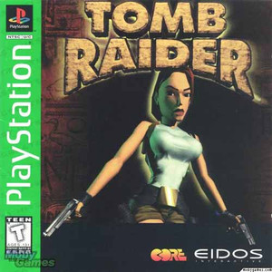 Complete Tomb Raider Greatest Hits - PS1 Game