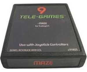 Maze Tele-Games 9 atari 2600 Game