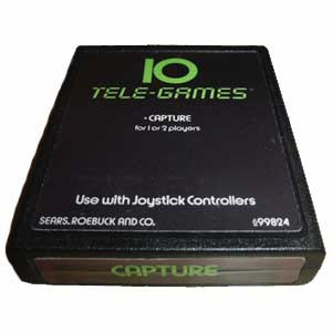 Capture Tele-Games 10 Atari 2600 Game