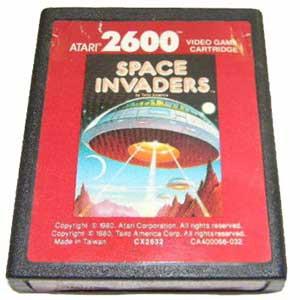 Space Invaders Red Label Atari 2600 Game