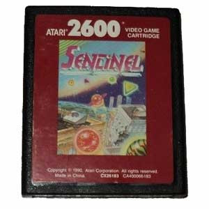 Sentinel Red Label - Atari 2600 Game
