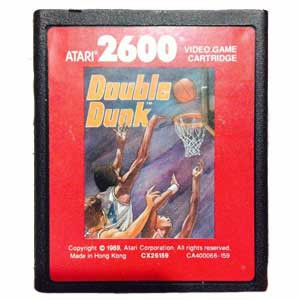 Double Dunk Red Label - Atari 2600 Game
