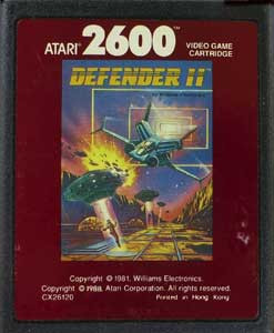 Defender II Red Label - Atari 2600 Game