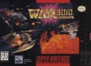 War The Revolution 3010 Super Nintendo Game