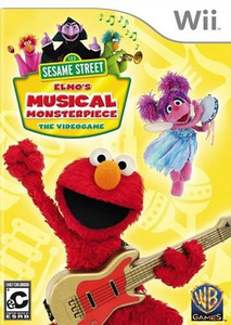 Sesame Street Elmo's Musical Masterpiece - Wii Game