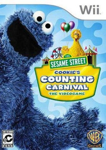 Sesame Street Cookie's Counting Carnival Nintendo Wii Game
