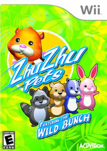 Zhu Zhu Pets Featuring the Wild Bunch Nintendo Wii Game