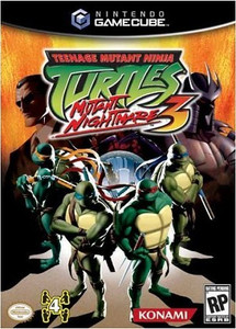 Teenage Mutant Ninja Turtles 3 GameCube Game