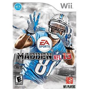 Madden NFL 13 Nintendo Wii Game
