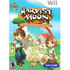Harvest Moon Tree of Tranquility Nintendo Wii Game