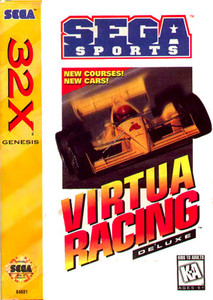 Complete Virtua Racing Deluxe - Genesis 32X Game