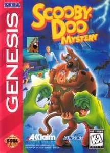 Scooby-Doo Mystery - Genesis game cartrdige