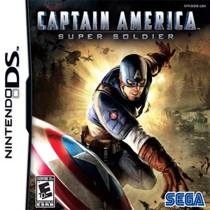 Captain America Super Soldier - DS Game