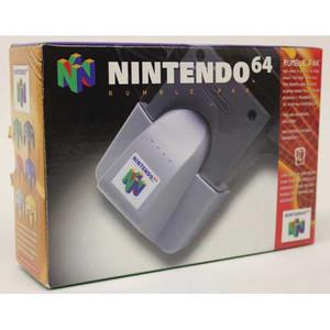 Original Rumble Pak - Empty N64 Box