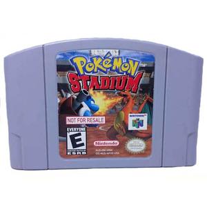 Not For Resale Pokemon Stadium - N64 Game