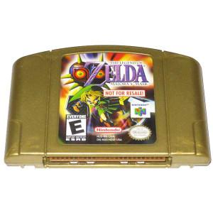 The Legend of Zelda Major'as Mask Gold Nintendo 64 Game