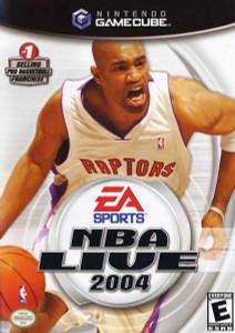 NBA Live 2004 Gamecube Game