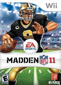 Madden NFL 11 Nintendo Wii Game