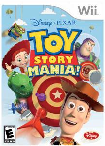 Disney Pixar Toy Story Mania! Wii Game
