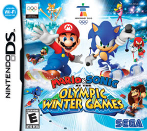 Mario & Sonic Olympic Winter Games - DS Game