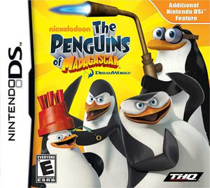 Penguins of Madagascar - DS Game